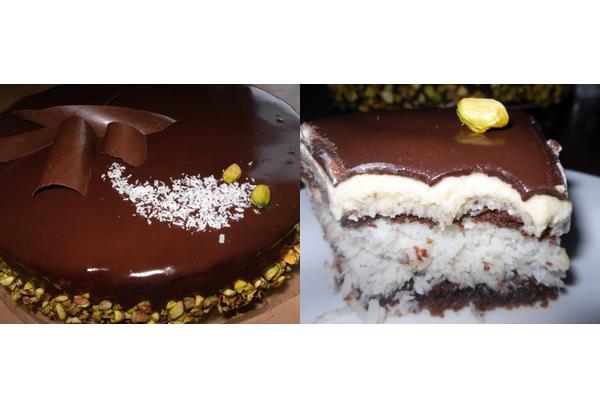 Շոկոլադեպատ Բաունտի տորթ