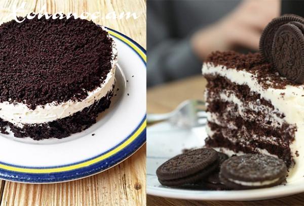 Իտալական խոհանոցի նրբագույն շոկոլադե տորթ ՝ Օրեո