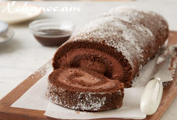 Շոկոլադե ռուլետ