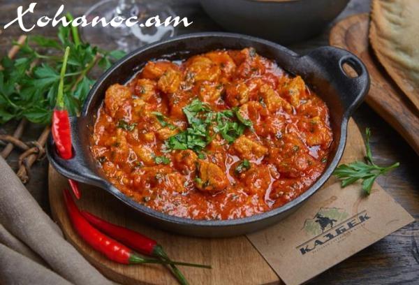 Վրացական խոհանոց․ Համեղ ուտեստի պատրաստման եղանակը ՝ Չաշուշուլի