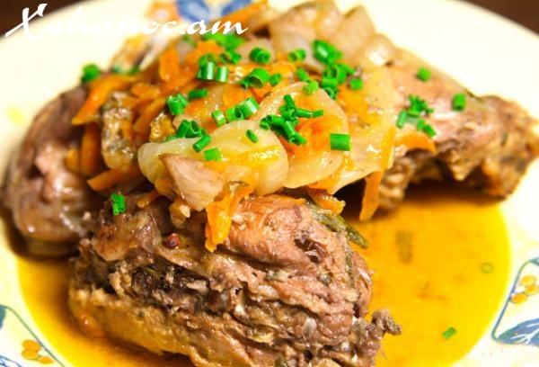 Հատուկ բաղադրատոմս, որով պատրաստում են Ֆրանսիական ռեստորաններում, Նապաստակը բանջարեղենով