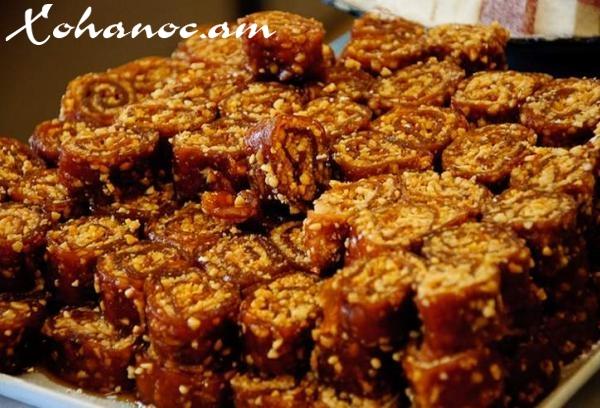 Հայկական ավանդական Քաղցր սուջուխ