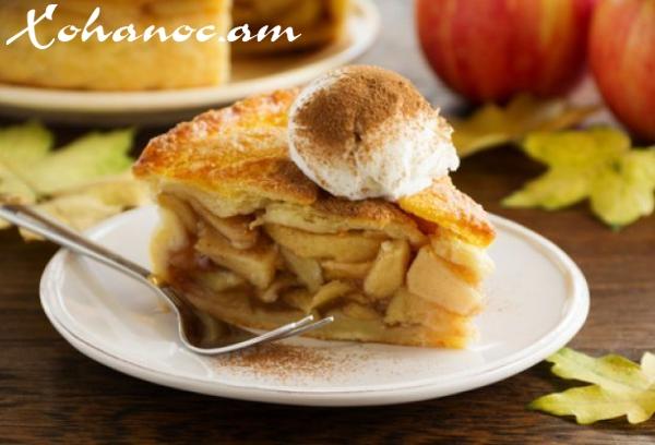 Խնձորով պիրոգ՝ մի քանի րոպեում