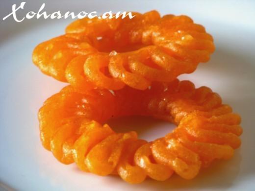 Հնդկական հայտնի քաղցրավենիք «Ջալեբի»