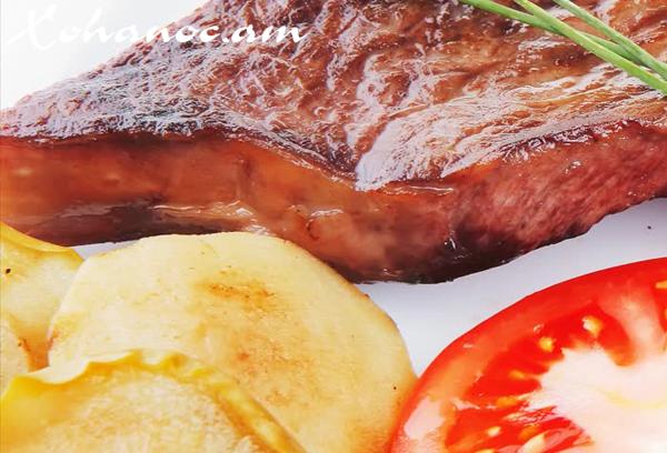 Պոմիդորի հետ տապակած հորթի միս