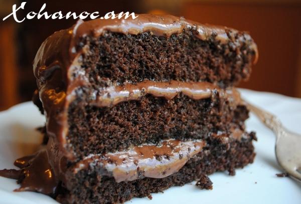 Շատ համեղ տորթ շոկոլադով