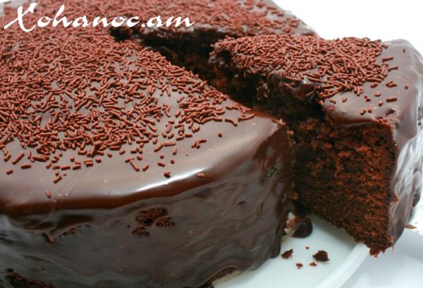 Շոկոլադով տորթ