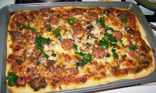 Տնական պիցցա
