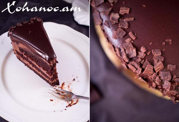 Բավարիական շոկոլադե տորթ