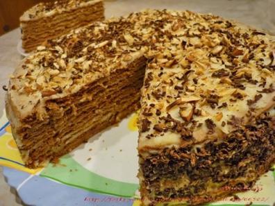 """""""ИДЕАЛ"""" вкусный торт с грецкими орехами рецепт"""