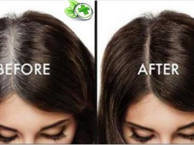 Применяйте это в течение 15 минут на волосы, и они никогда не станут седыми