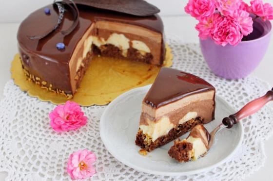 Рецепт торта 3 шоколада пошагово фото