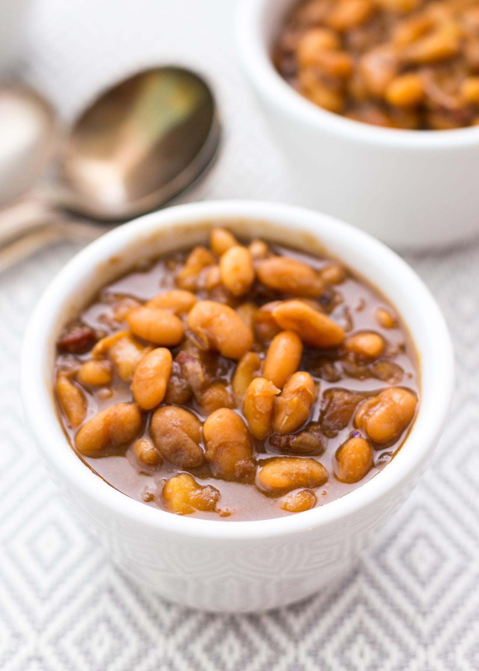 Pressure Cooker Baked Beans