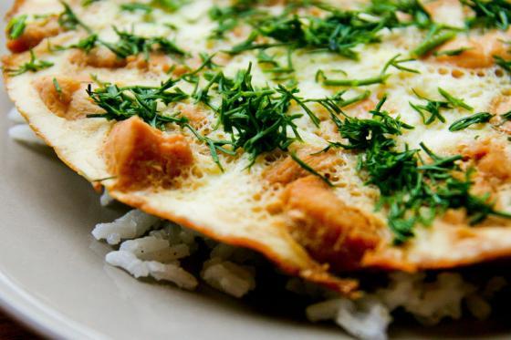 японский омлет с рисом рецепт с фото
