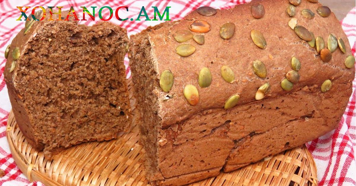 Տնային պայմաններում պատրաստված հաց գարեջրով, առանց խմորիչների