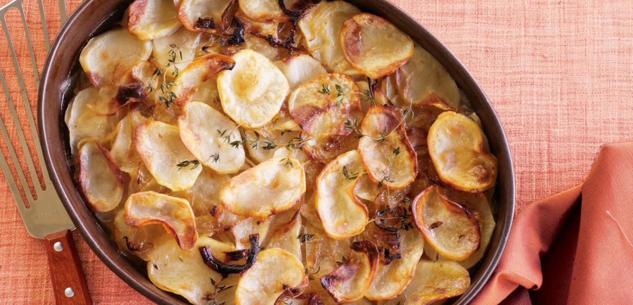 Ֆրանսիական խոհանոց. Կարտոիֆիլ նրբագեղ և համեղ բաղադրատոմս