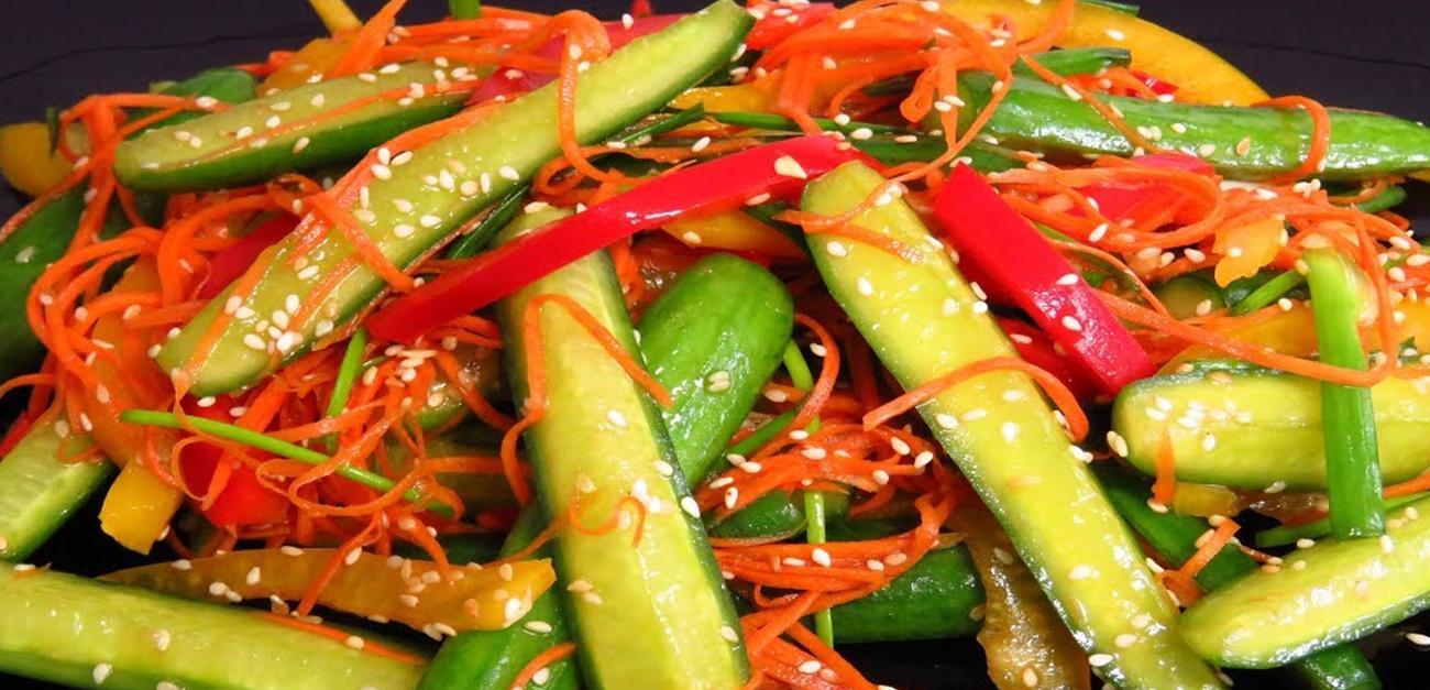 Կորեական աղցանի համեղ և յուրահատուկ բաղադրատոմս։