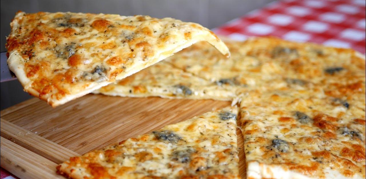 Պանրով պիցցայի համեղ, արագ ու հեշտ բաղադրատոմս: