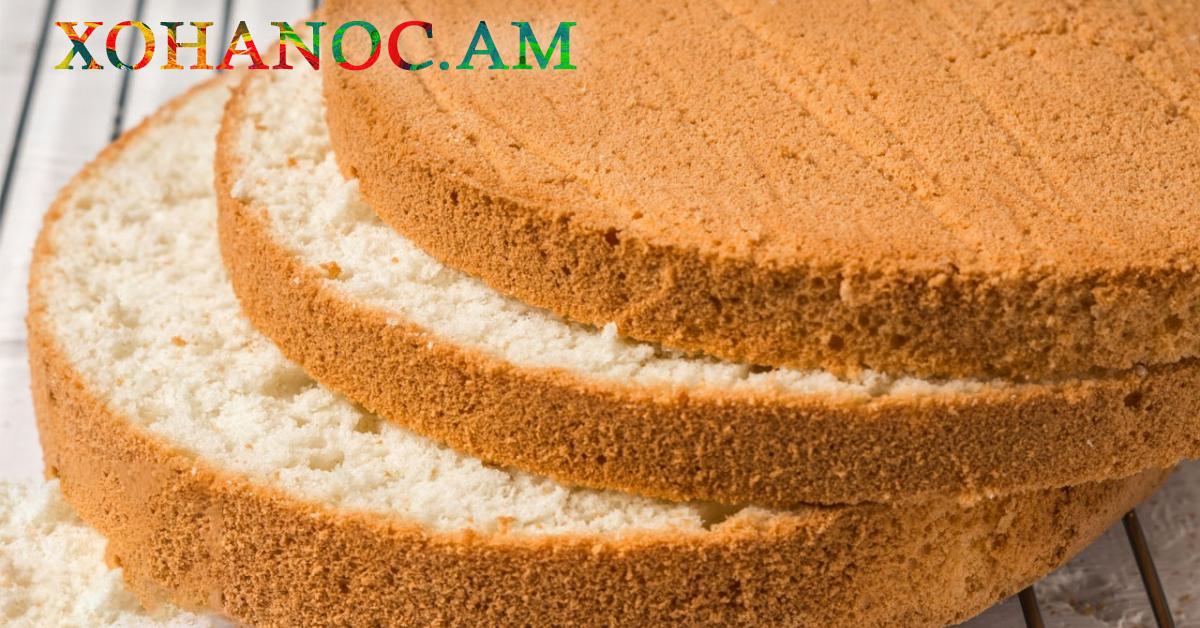 Կլասիկ բիսկվիտի բաղադրատոմս, որով ստացվում են շատ համեղ և նուրբ թխվածքներ