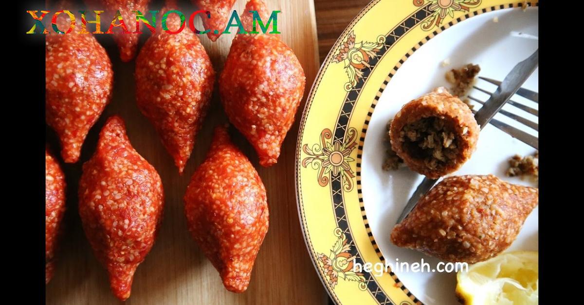 Լցոնած կոլոլակ  կամ իշլի քյուֆթա, բաղադրատոմսը Հեղինեի կողմից