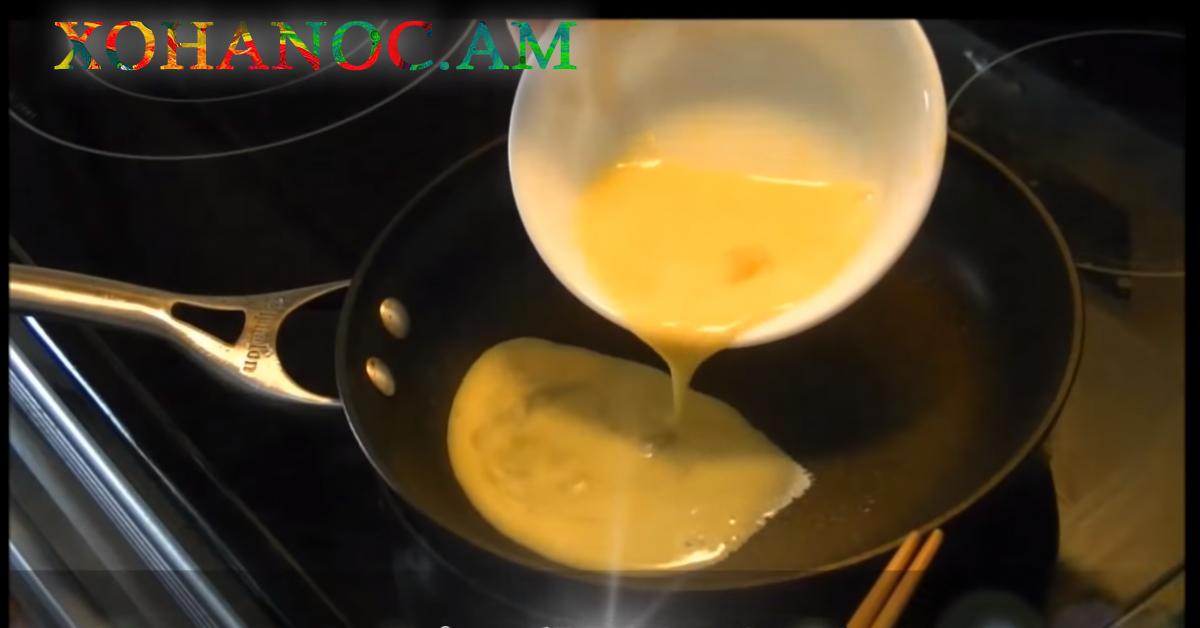 Ինչպես պատրաստել ձվածեղ ՝ ճապոնական ձևով․ Սա ուտելուց հետո ձվածեղը միշտ այդպես կպատրաստեք