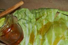 Օգտագործեք կաղամբի տերև ու մեղր՝ հազն ու բրոնխիտը բուժելու նպատակով